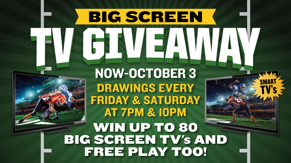Big Screen TV Giveaway