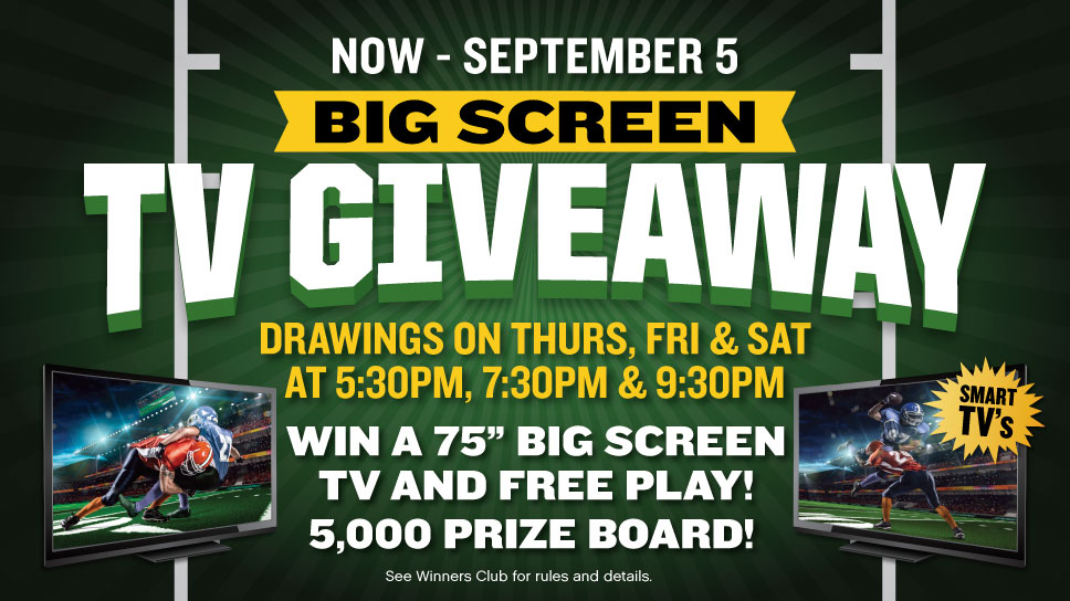 TV Giveaway Promo